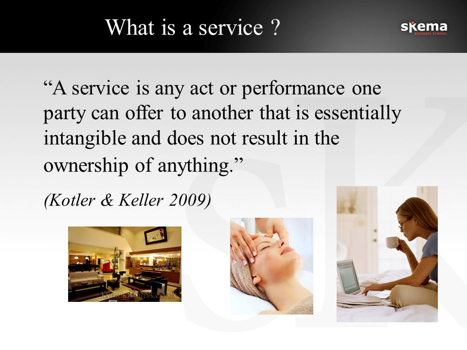 What is a service .
