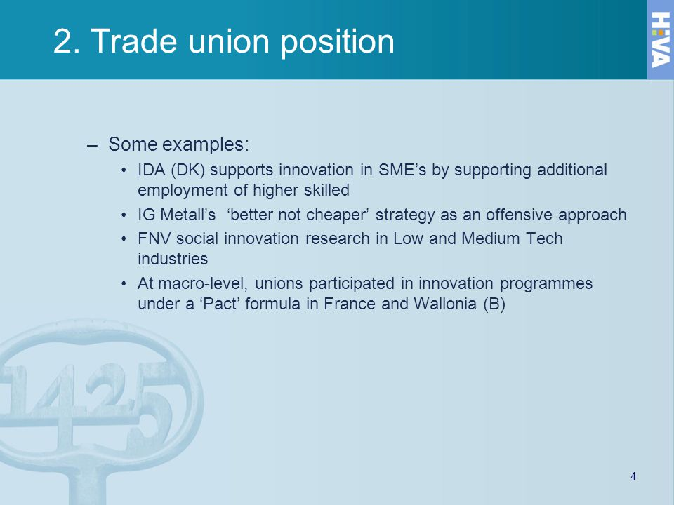 3.Participation in innovation 1.