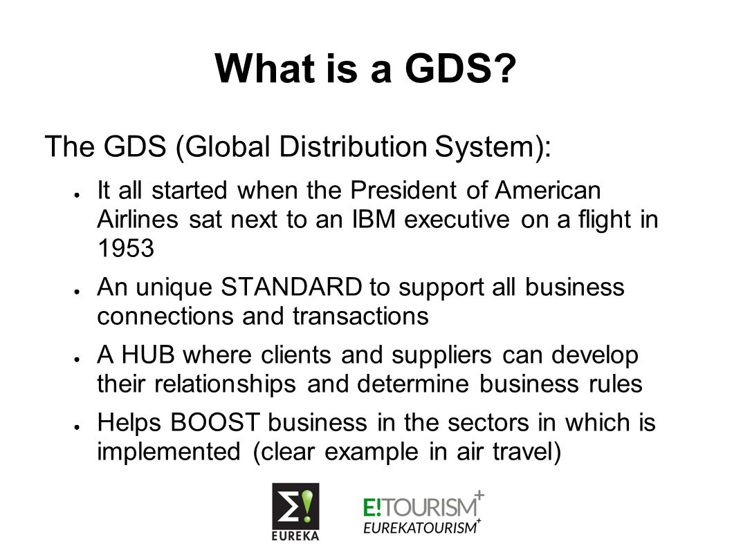 What is a GDS.