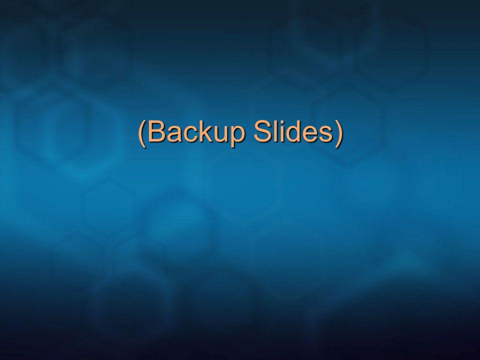 (Backup Slides)