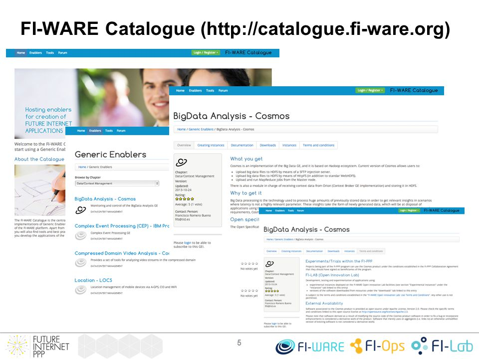 FI-WARE Catalogue (http://catalogue.fi-ware.org) 5