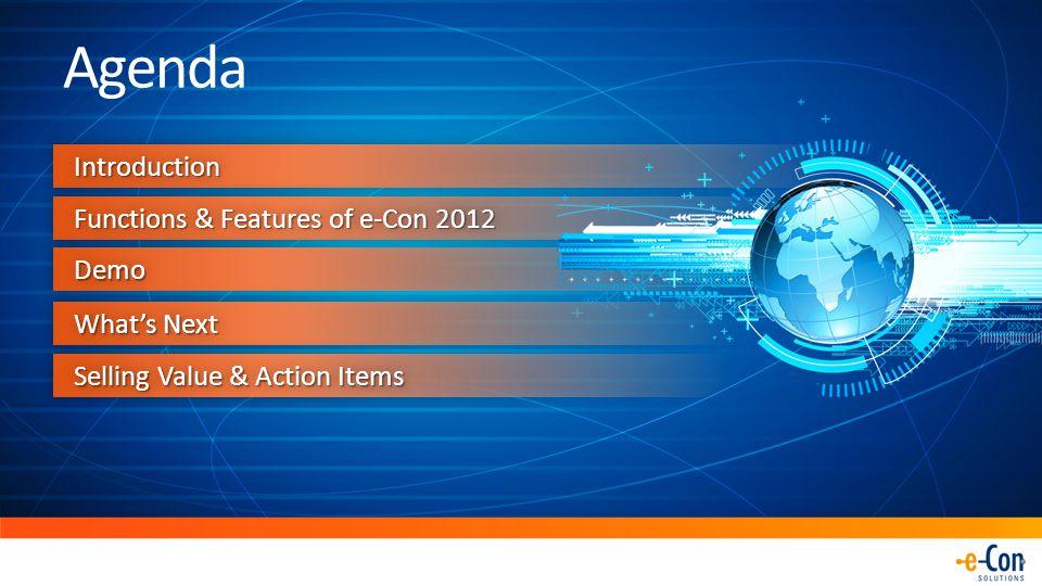 e-Con 2012 for Microsoft Dynamics AX 2012 Dynamics AX Configurator e-Con 2012 Product Builder Choosing the right fit ?