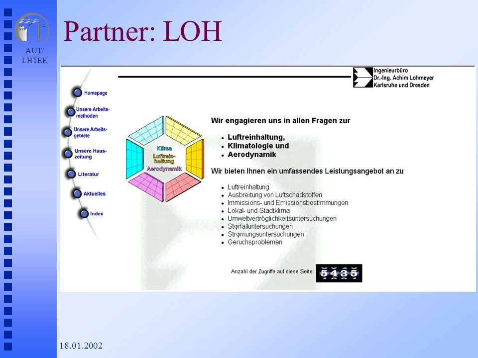 AUT/ LHTEE 18.01.2002 Partner: LOH