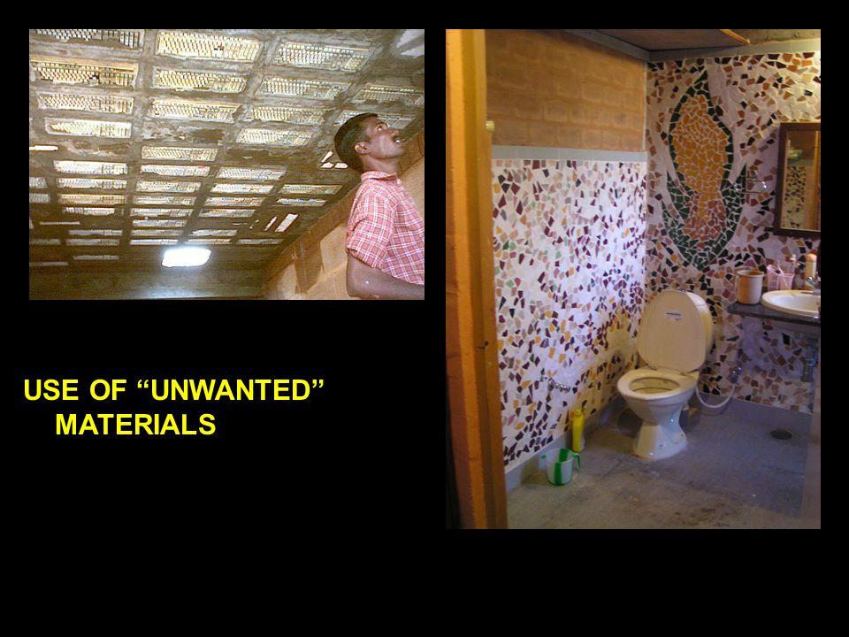 """REUSING OF TILES DEBRIS FILLER SLAB USE OF """"UNWANTED"""" MATERIALS"""