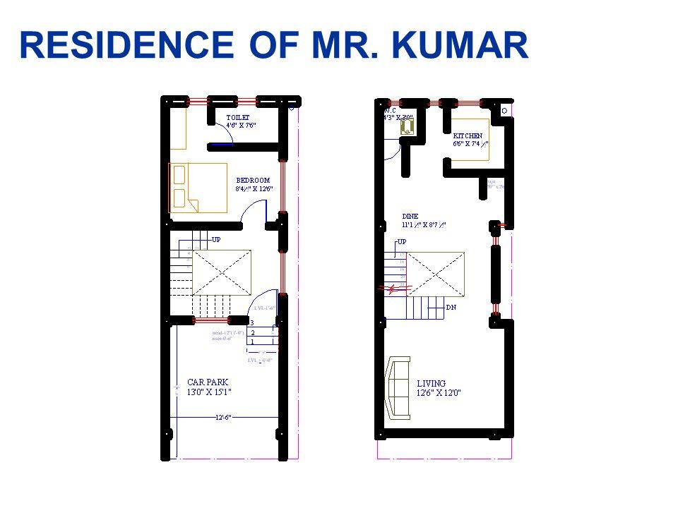 RESIDENCE OF MR. KUMAR