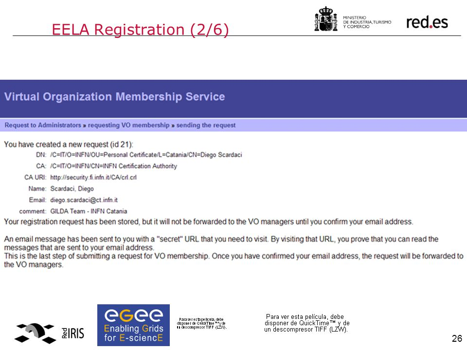 26 EELA Registration (2/6)