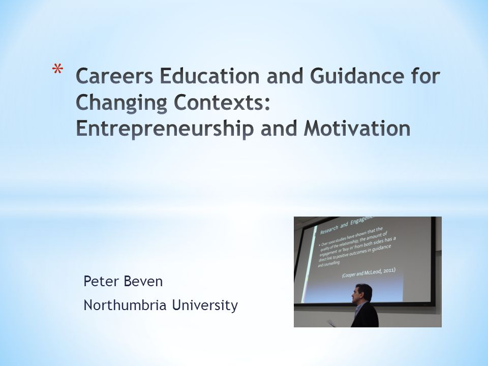 Peter Beven Northumbria University