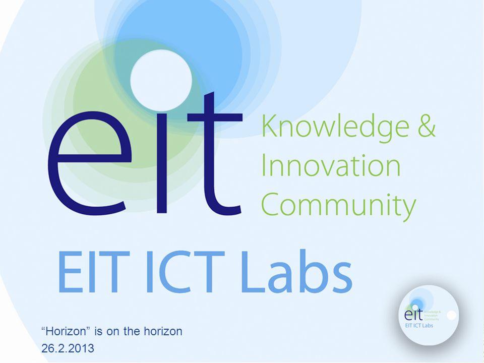EIT ICT Labs Kai Huotari Co-Location Centre Manager EIT ICT Labs Helsinki
