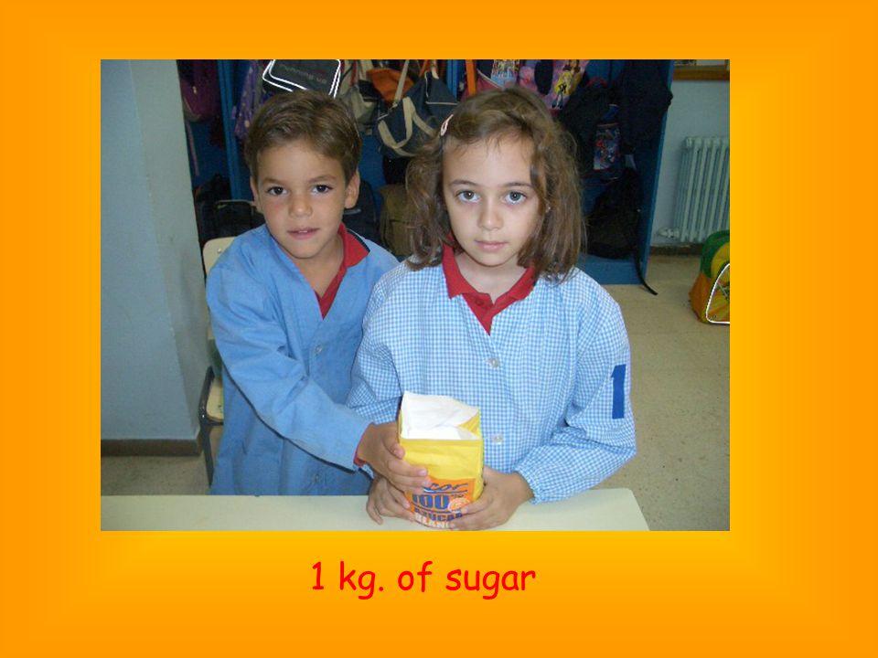 1 kg. of sugar