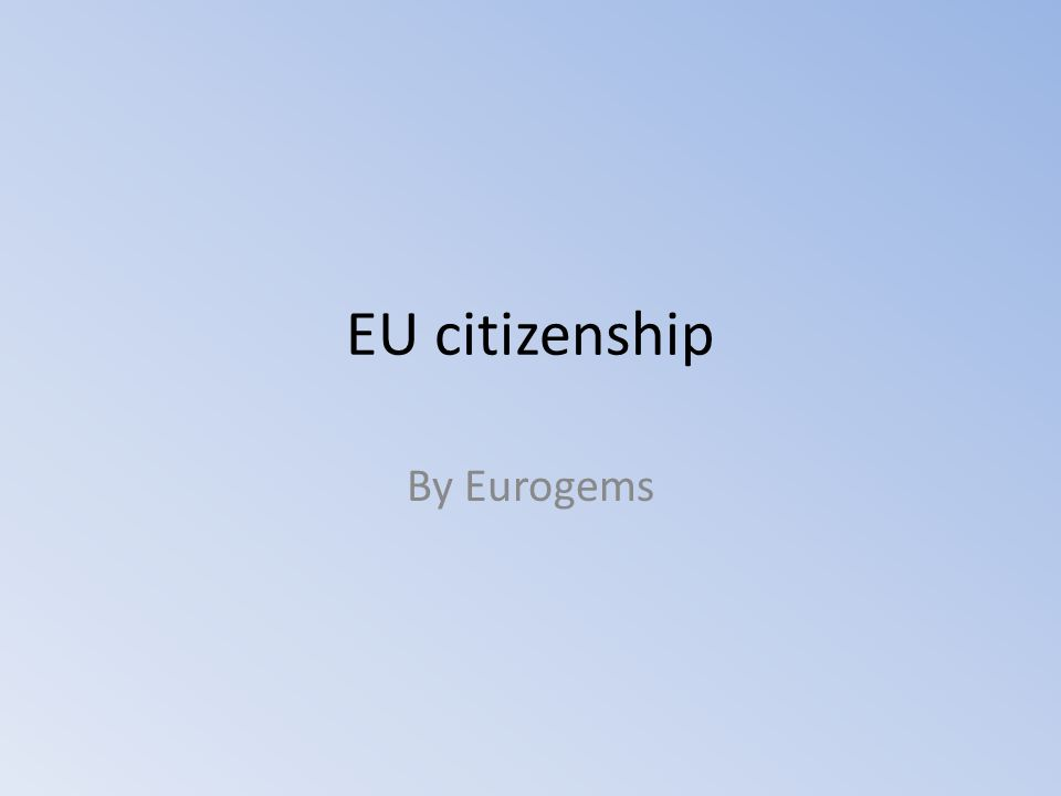 Eurobarometer: questions National Identity - European Identity - World Identity Do you ever think of yourself not only as (nationality) citizen, but also as a citizen of Europe.