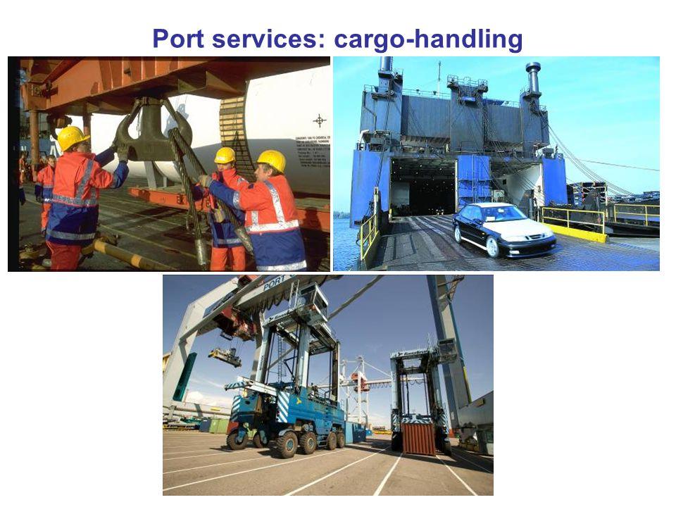 Port services: cargo-handling
