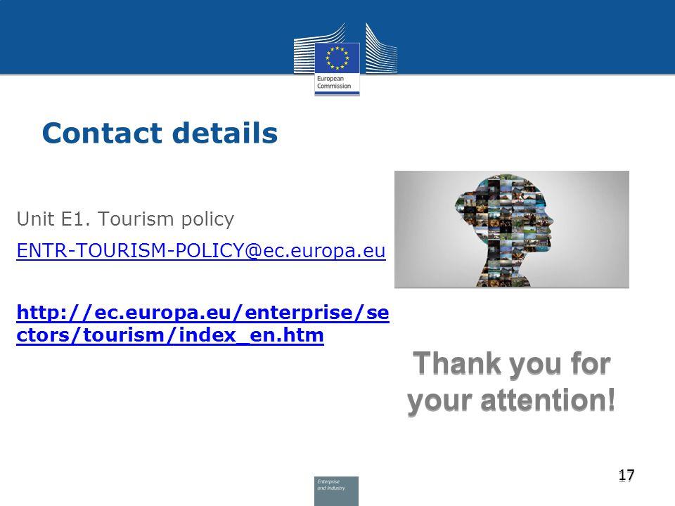 Contact details Unit E1.
