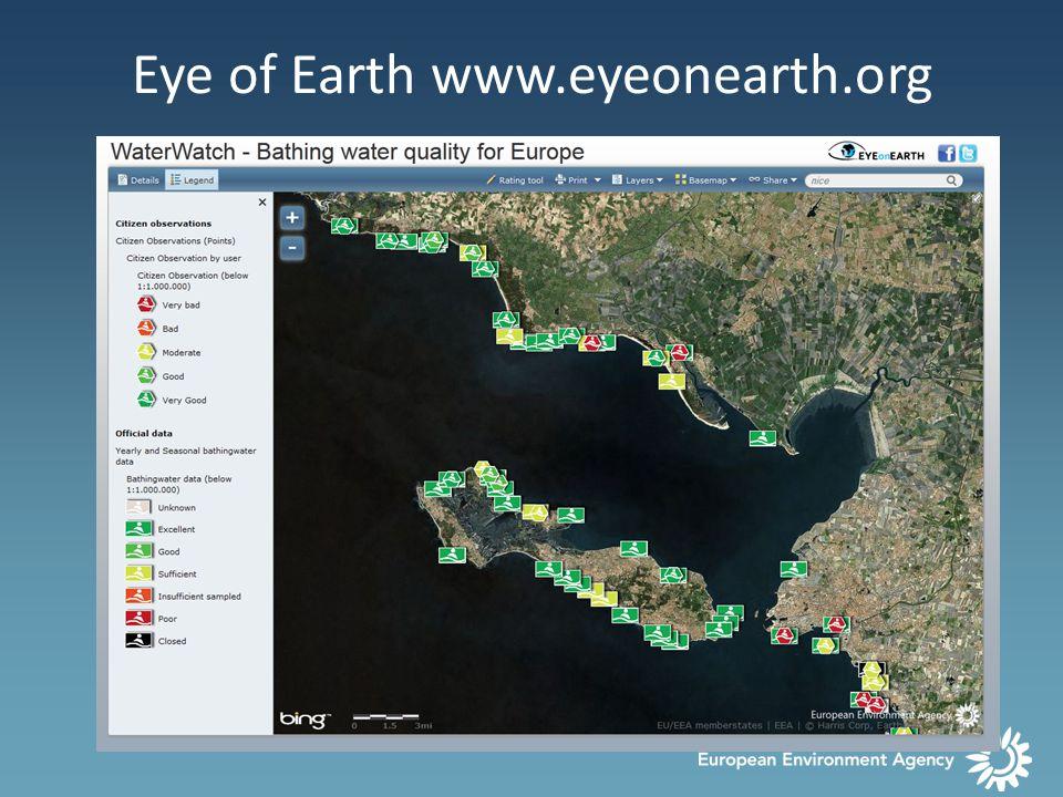Eye of Earth www.eyeonearth.org