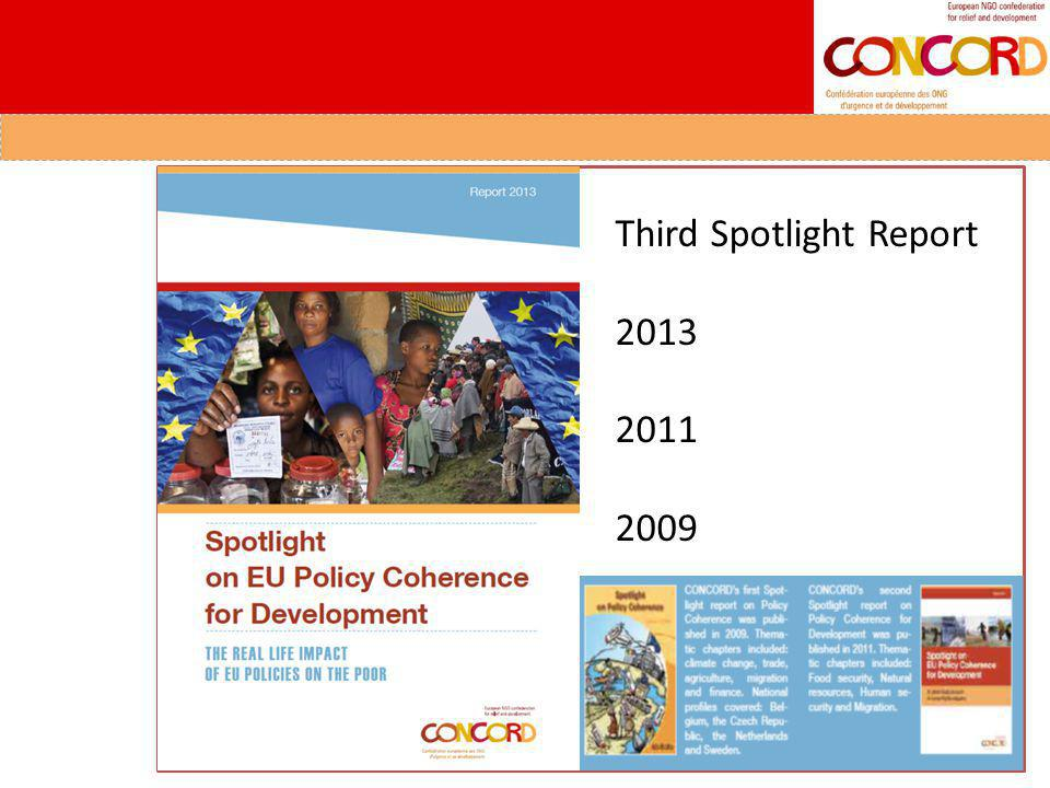 Third Spotlight Report 2013 2011 2009