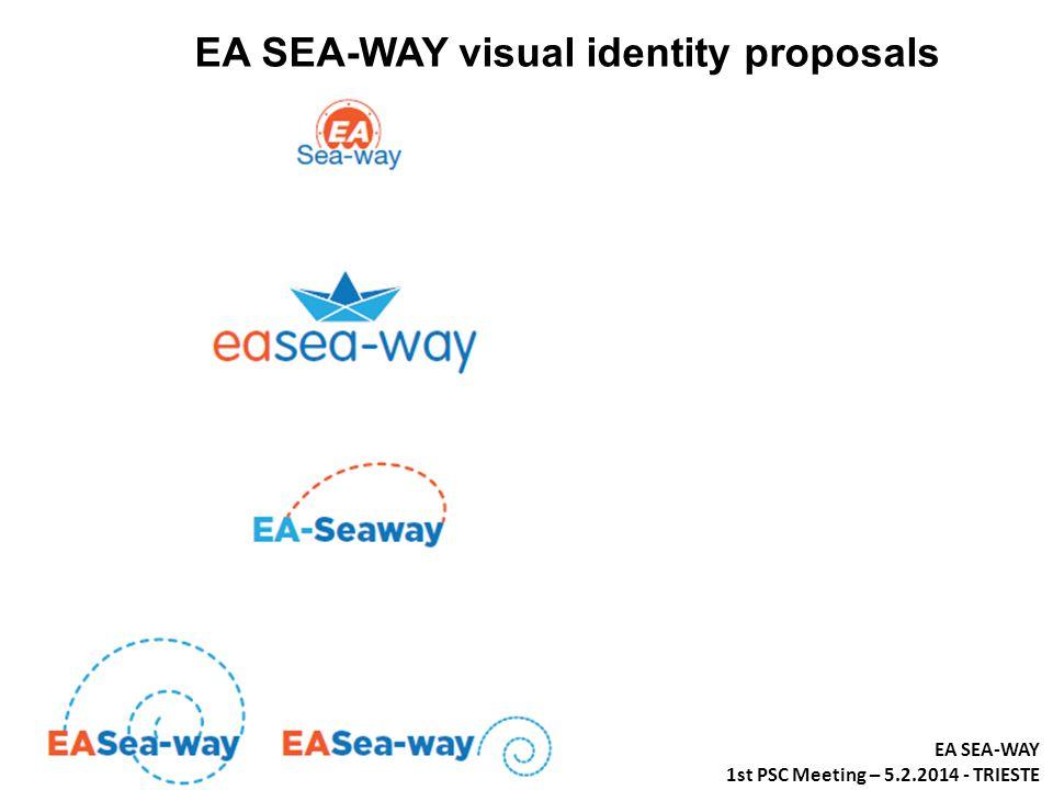 EA SEA-WAY visual identity proposals EA SEA-WAY 1st PSC Meeting – 5.2.2014 - TRIESTE