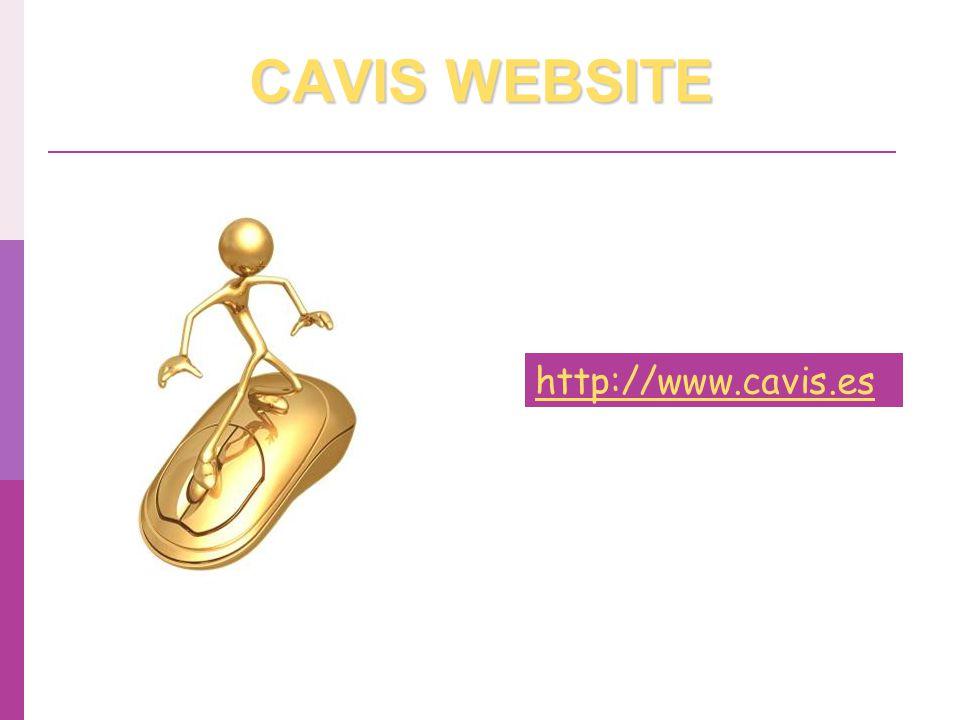 CAVIS WEBSITE http://www.cavis.es