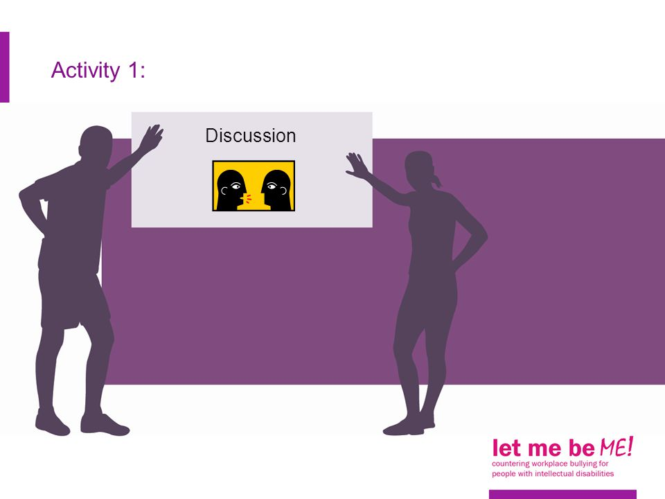 Activity 1: Discussion