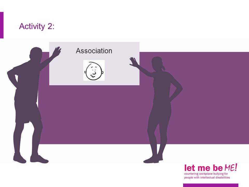 Activity 2: Association
