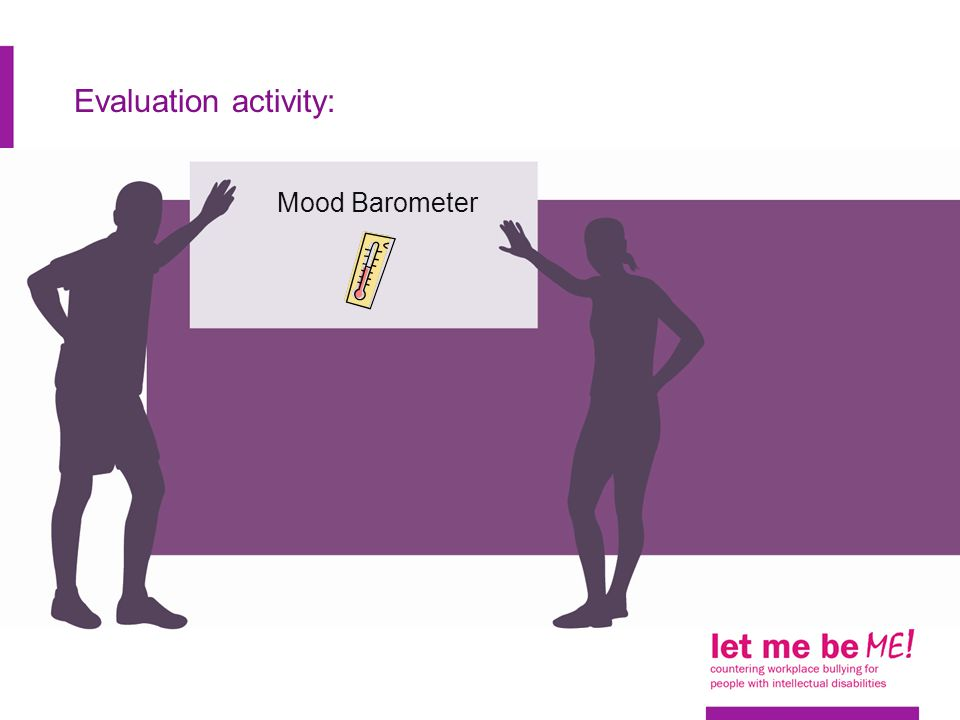 Evaluation activity: Mood Barometer