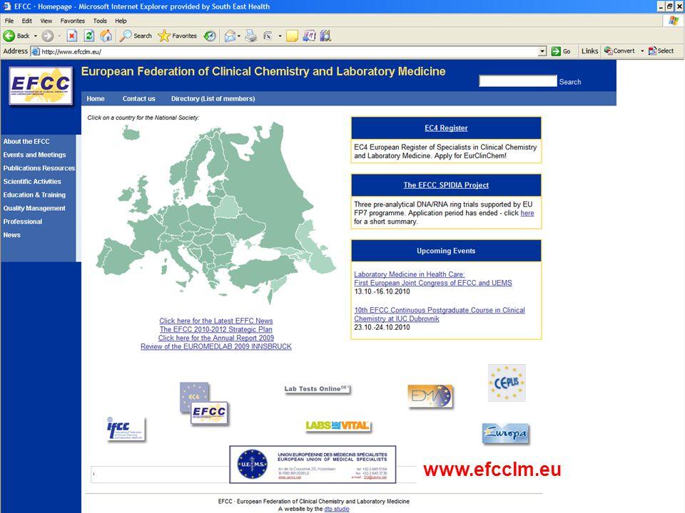 www.efcclm.org www.efcclm.eu