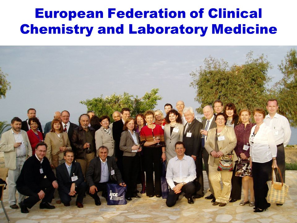 www.efcclm.org Standardisation and improvement of pre-analytical procedures for current and future in-vitro diagnostics.