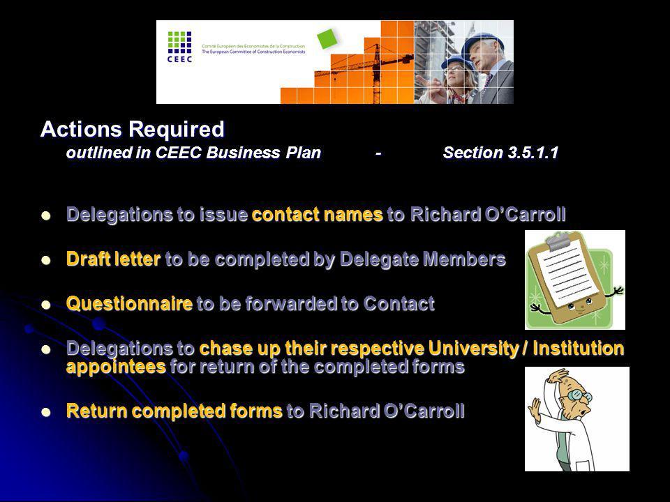 European Diploma in International Construction Economics