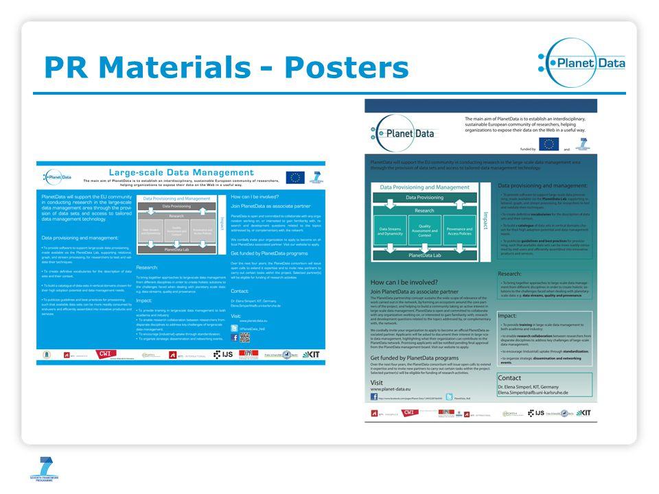PR Materials - Posters