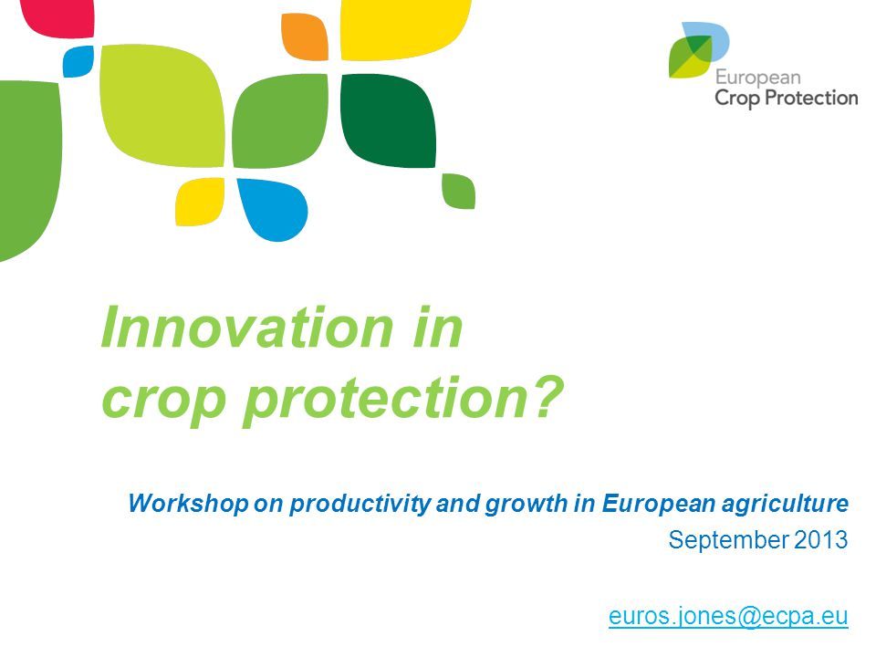 Innovation in crop protection.