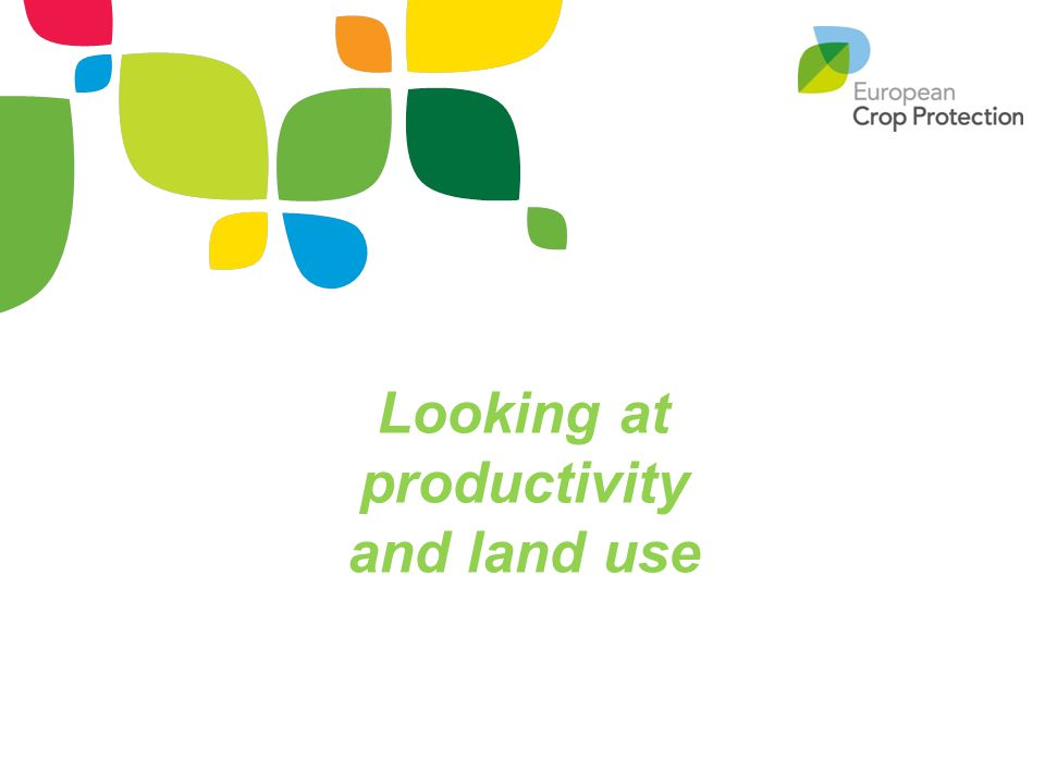Looking at productivity and land use