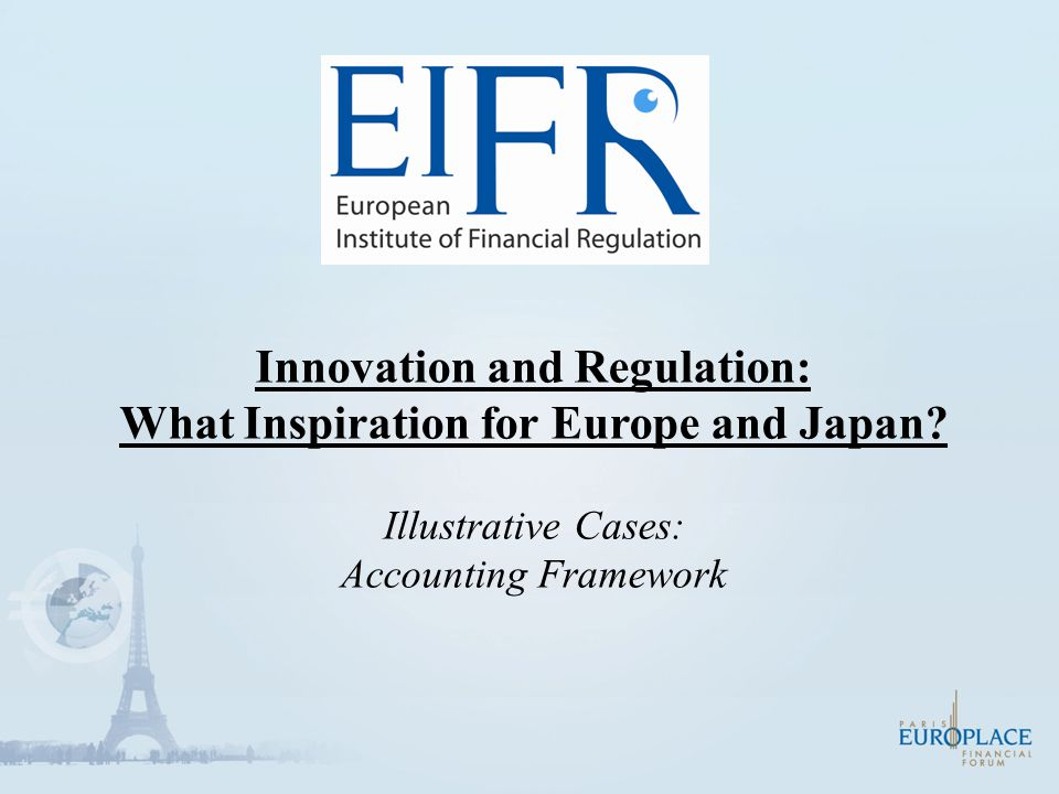 Innovation and Regulation: What Inspiration for Europe and Japan.
