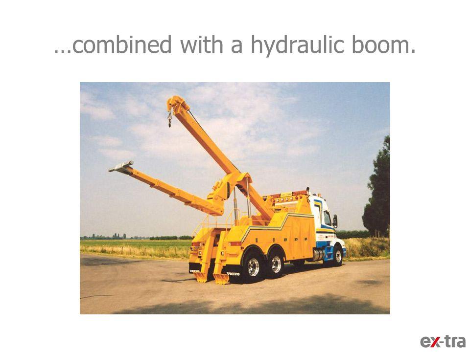 A crane arm recess,…