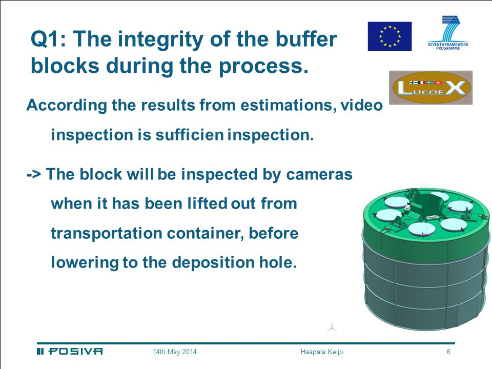 Q1: The integrity of the buffer blocks during the process.