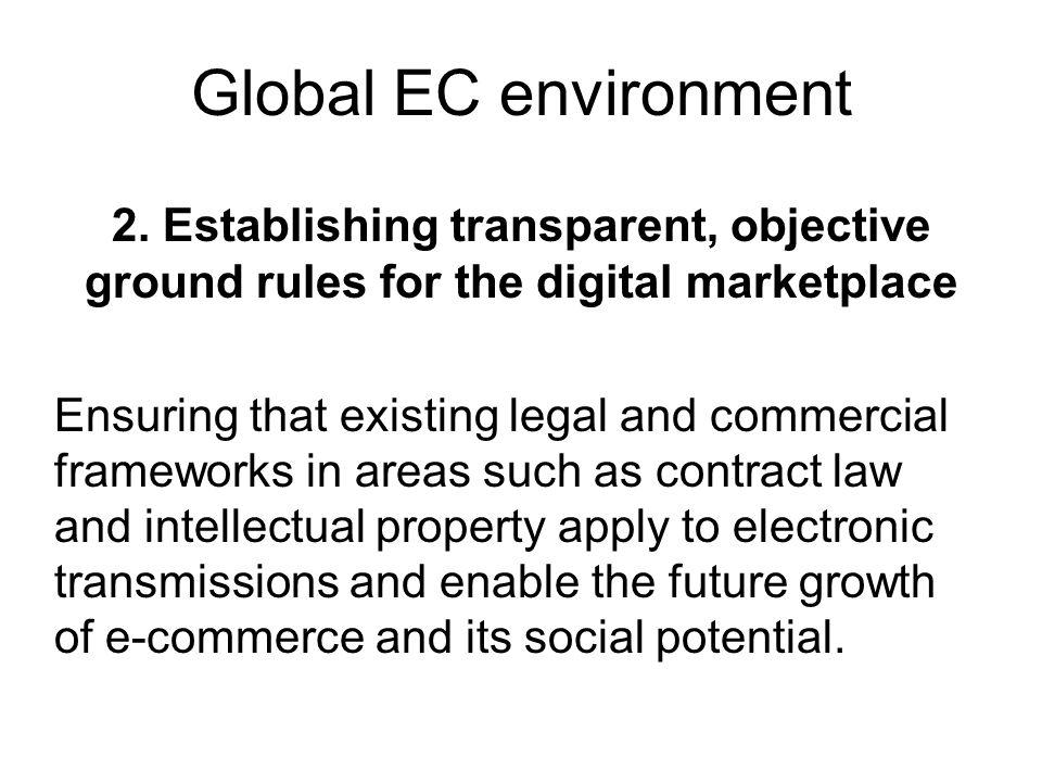 Global EC environment 2.