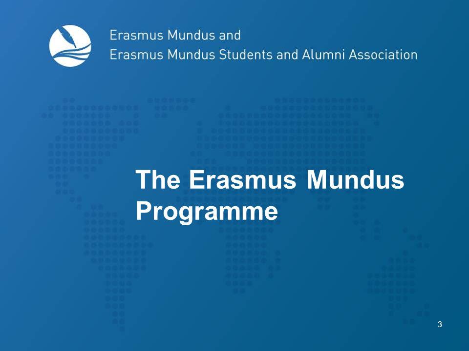 3 The Erasmus Mundus Programme