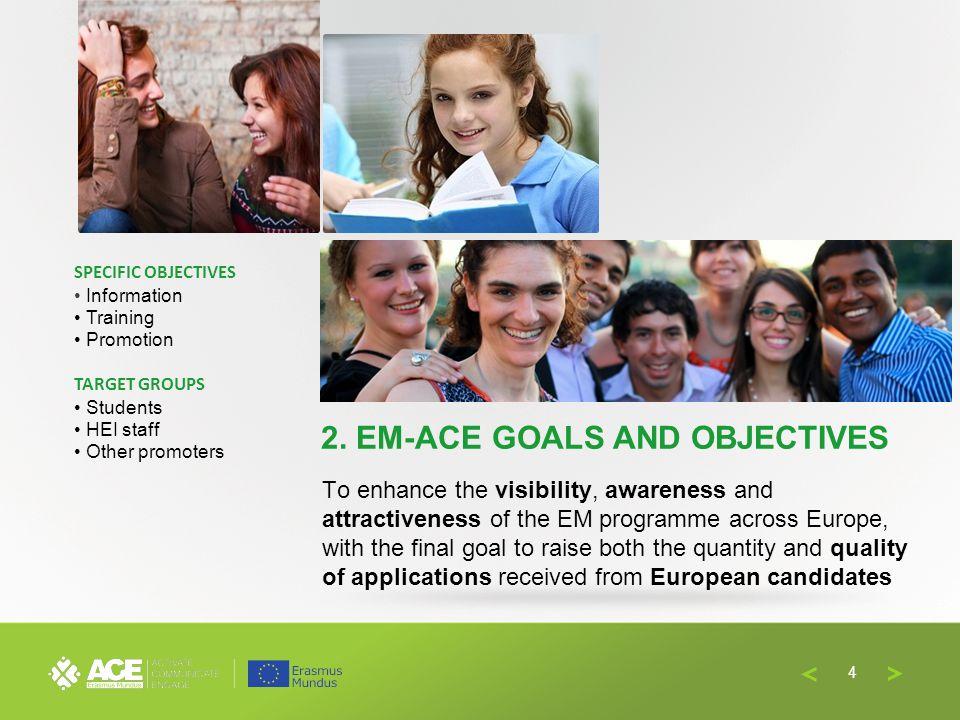 Why promoting Erasmus Mundus towards European students.