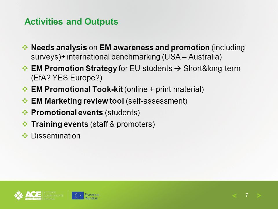 Four key stakeholders share their experience:  European Commission  CampusFrance  Ghent University  Erasmus Mundus Students and Alumni Association 3.