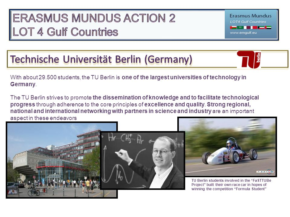 """TU Berlin students involved in the """"FaSTTUBe Project"""" built their own race car in hopes of winning the competition """"Formula Student"""" With about 29.500"""
