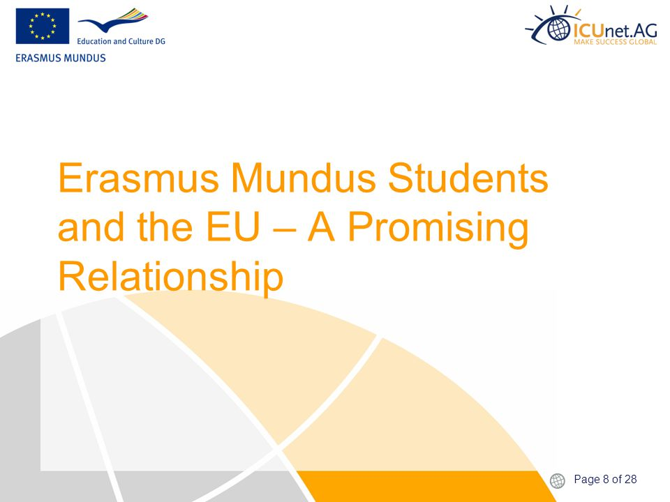 Page 19 of 28 Friends for Life through Erasmus Mundus.