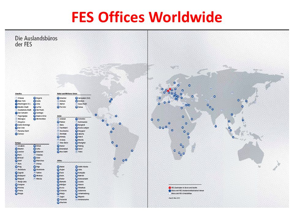 FES Offices Worldwide