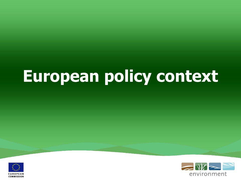 European policy context