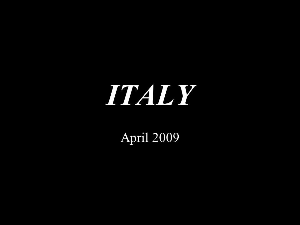 ITALY April 2009