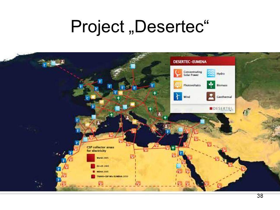 "38 Project ""Desertec"