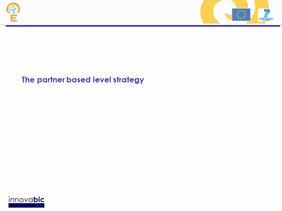 The partner based level strategy