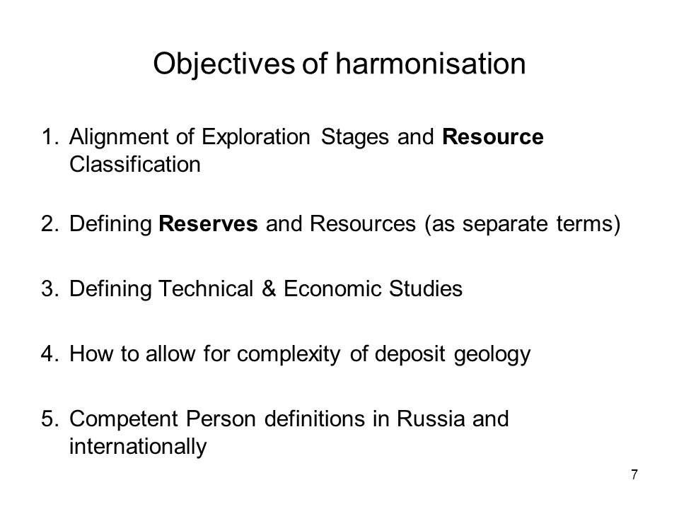 Agreed simplified basis for resource classification alignment Russian categoryCRIRSCO category AMEASURED RESOURCE BMEASURED / INDICATED RESOURCE C1INDICATED / INFERRED RESOURCE C2INDICATED / INFERRED RESOURCE P1INFERRED RESOURCE / EXPLORATION RESULTS P2/3EXPLORATION RESULTS 18