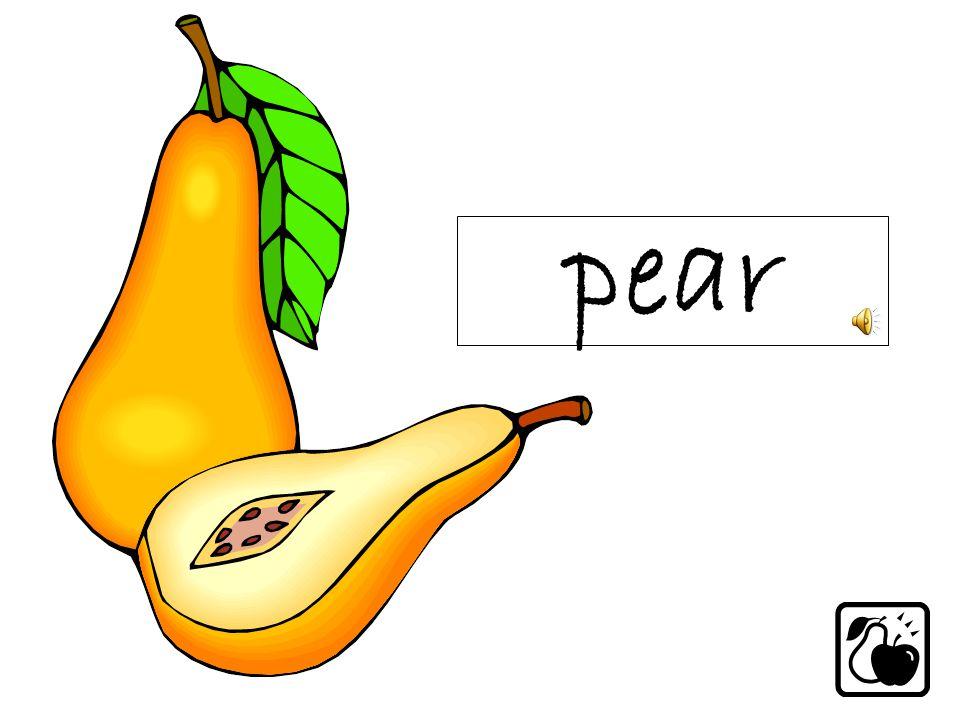 pearapple strawberry banana
