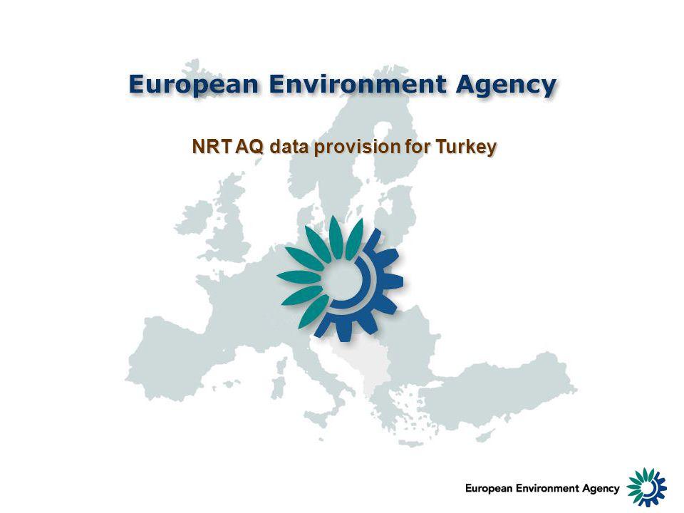 NRT AQ data provision for Turkey