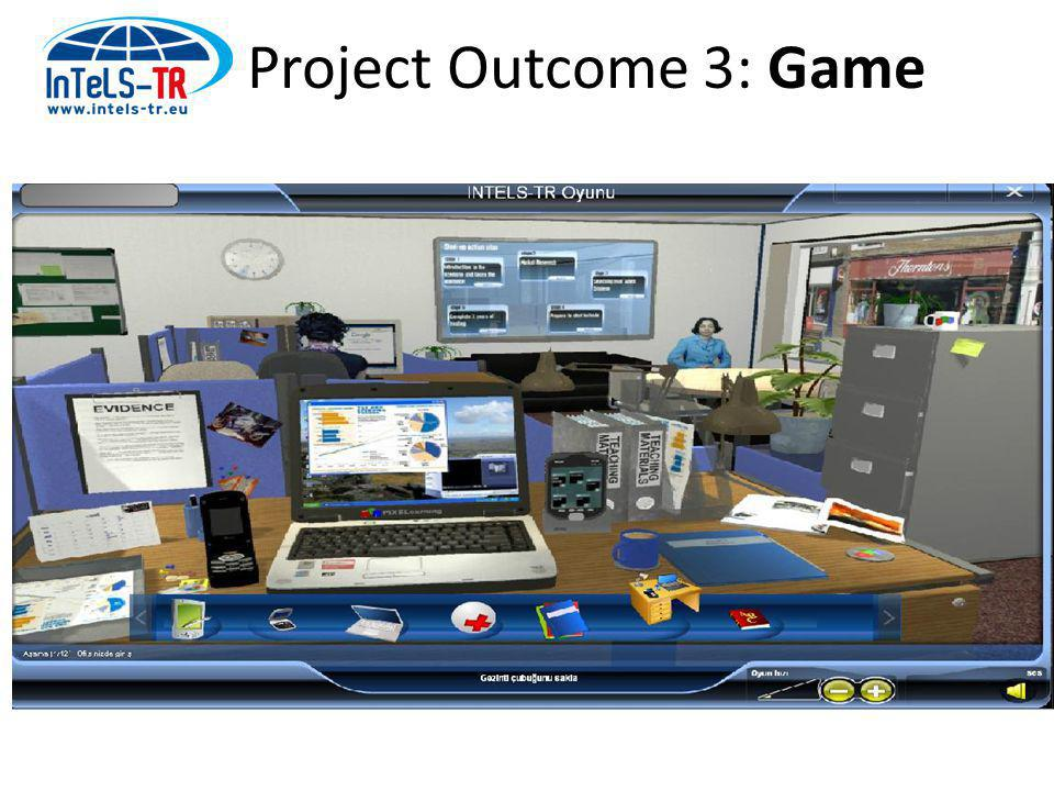 Project Outcome 3: Game