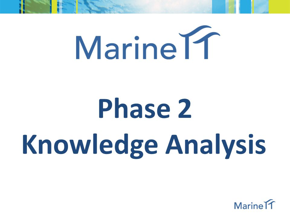 Phase 2 Knowledge Analysis