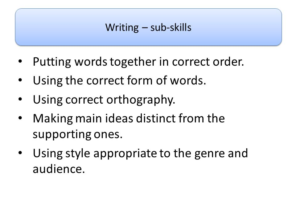 Orthography corrector online