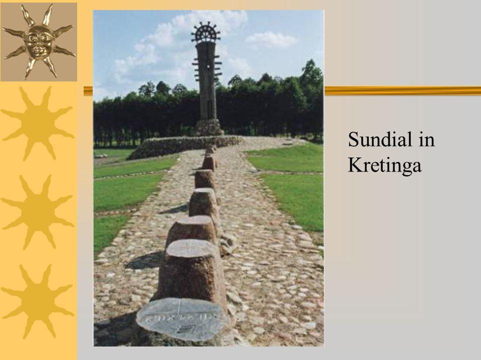 Sundial in Kretinga